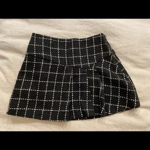 Pleaded school girl skirt